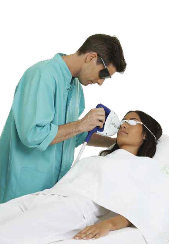 E eye behandling för torra ögon