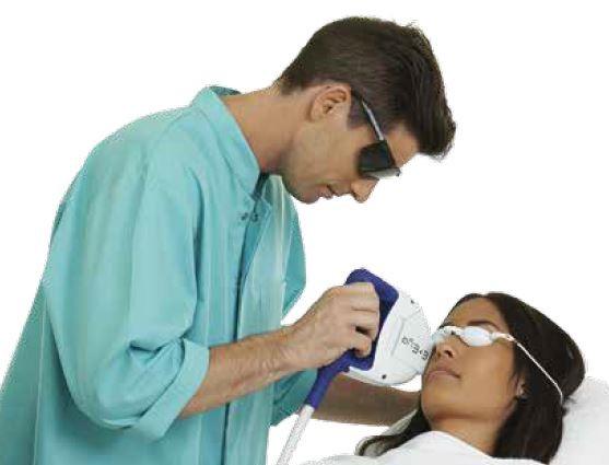 E-eye behandling för torra ögon